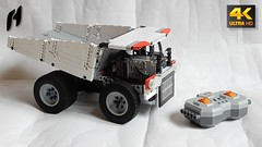 Xiaomi Mitu Mine Truck with CaDA Remote Control (4K) (hajdekr) Tags: lego buildingblocks tip help tips stepbystep inspiration design manual toy model buildingbricks bricks brick builder buildingtoy china madeinchina unboxing new newarrival newarrivals xiaomi mitu minetruck truck dumper dump tipper preview review handson technic steering gearwheel tire tires mine moc myowncreation pf powerfunction remotecontrol cada motor batterybox folding