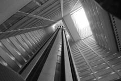 Atrium (Heaven`s Gate (John)) Tags: marriott marquis hotel atrium newyork usa elevator lift architecture johndalkin heavensgatejohn blackandwhite black white bw johnportman 10faves 25faves 50faves