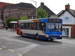 Stagecoach 35233 Chesterfield (Guy Arab UF) Tags: stagecoach yorkshire 35233 yn56omo alexander dennis dart slf pointer bus new beetwell street chesterfield derbyshire buses