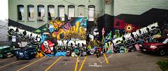 Game Not Fame mural at LoFi Gallery (Dennis Valente) Tags: streetarteverywhere usa muralist washington art contemporaryurbanart streetart seattle hdr spraypaint urbanart artist 5dsr 32bit pnw aerosol muralart painting isobracketing streetartistry mural