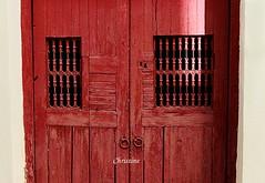 old door, detail. (christinehag) Tags: porte door πόρτα