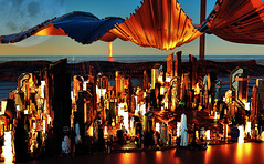 Futurescape Scene (Alexander H.M. Cascone [insta @cascones]) Tags: cinema 4d c4d cinema4d 3d graphic design graphicdesign art surreal trippy photoshop scifi science fiction tech technology future city landscape cityscape view futuristic buildings skyscrapers moon