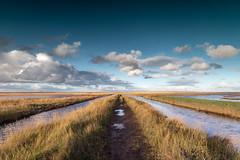 The Iron Road, Salthouse (andybam1955) Tags: autumn theironroad landscape sea coastal clouds sky northnorfolk rural autumnlight norfolk salthousemarsh