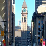 Toronto Ontario - Canada - Old City Hall - Looking up Bay Street thumbnail