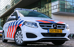 Dutch police Mercedes B-class (Dutch emergency photos) Tags: politie police polizei politi polis polisi polisie polici policie policia polisia polit politievoertuig policevehicle policecar politievoertuigen politieauto mercedes b klasse class amsterdam nederland nederlands nederlandse netherlands netherland dutch emergency 999 911 112 blue light blauw licht lichtbalk lichtbak lightbar sv986z amstelland replacement new touran merc 8209
