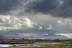 Stormy Inverasdale (syf22) Tags: scotland rosscromarty landscape scenic scenery countryside opencountry westofscotland cloudscape clouds moody storm stormy clearing shower changeable cloudy sky cloudysky overcast weather forecast view panoramic