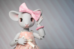 ophiebow (rappsface) Tags: bjd ball jointed doll balljointeddoll anthro mouse mouseling atelier murinae artdoll artistdoll