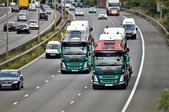 Double Beamish..... (stavioni) Tags: beamish transport car transporter van volvo fm truck trailer lorry p30btl y4btl bilbo baggins bobby vee