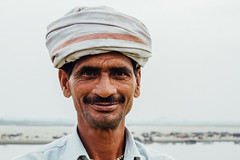 Farmer In Turban, Uttar Pradesh India (AdamCohn) Tags: adamcohn india mathura vrindavan crop farmer harvest holi man mustache smile turban wwwadamcohncom gauhari uttarpradesh