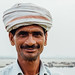 Farmer In Turban, Uttar Pradesh India