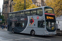 WitchWay PJ05ZVY (Mike McNiven) Tags: transdev blazefield theburnleybuscompany burnley skipton manchester princessstreet chorltonstreet wright eclipse gemini