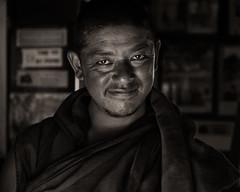 Monk (Sudeep Mukherjee) Tags: 2018 june kalimpong cropped