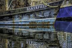 Bakerfield 1 (VarietyHour) Tags: outdoor ocean boats trawler reflections ship fuji xpro2