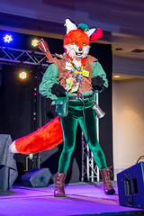 DSC09121 (Kory / Leo Nardo) Tags: pacanthro pawcon paw con pac anthro convention fur furry fursuit suiting mascot sona fursona san jose doubletree hotel california dance party deck animals costuming pupleo 2018