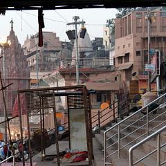 varanasi chaos (2) (kexi) Tags: varanasi benares india asia ghats chaos canon square february 2017 stairs instantfave