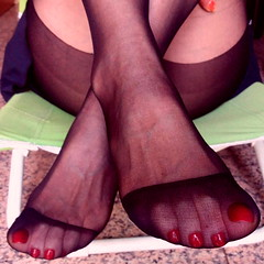 nylon seduction (pbass156) Tags: nylon nylons nylontoes feet foot footfetish fetish sexy silky hosiery stockings stocking sheer toes toefetish toenails toepolish paintedtoes pedicure pantyhose pedi