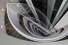ARoS Kunstmuseum - Explored Oct 10, 2018 (Frank Guschmann) Tags: aarhus dänemark regionmidtjylland aros kunstmuseum frankguschmann nikond500 d500 nikon treppe treppenhaus escaliers stairs stairwell staircase stufen steps dk