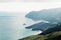 (aclaudine) Tags: 35mm film colors landscape naturallight nature sea green portugal arrábida canon 50mm analog outdoor