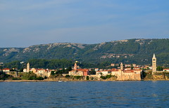 Rab City & Its Four Bell Towers [Rab - 24 August 2018] (Doc. Ing.) Tags: 2018 rab croatia otokrab rabisland happyisland kvarner kvarnergulf summer mediterraneansea adriatic