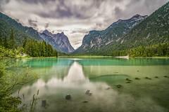 Toblacher Lake (Helmut Wendeler aus Hanau) Tags: toblachersee lake see toblacherlake dolomiten dolomites tirol italy