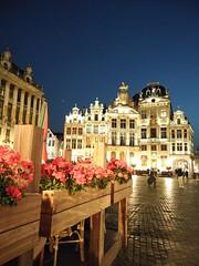 La Gran Plaza de Bruselas en el Sunset. (gustavoantonioromeromurga) Tags: bruselas gran plaza sunset 2018 belgica europa