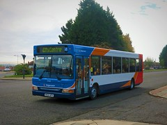 Stagecoach North East 34611 (NK04NPX) - 15-10-18 (peter_b2008) Tags: stagecoachgroup stagecoachnortheast stagecoachsunderland transbus dartslf pointer2 34611 nk04npx buses coaches transport buspictures