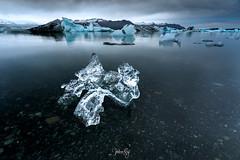 Cold (Valeria Sig) Tags: jökulsárlón iceland lagoon ice cold nature