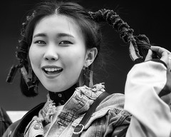 Seoul (ale neri) Tags: street portrait bw aleneri asian korean girl people seoul fashionweek korea blackandwhite alessandroneri