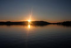 IMG_5268-1 (Andre56154) Tags: schweden sweden sverige see lake wasser water himmel sky sonnenuntergang sunset landschaft landscape sonne sun