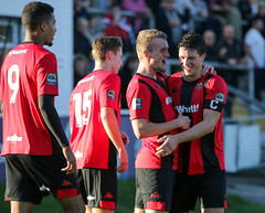 Lewes 2 Folkestone Invicta 0 20 10 2018-219-2.jpg (jamesboyes) Tags: lewes folkestoneinvicta football soccer fussball calcio voetbal amateur bostik isthmian goal score celebrate tackle pitch canon 70d dslr