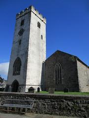 Carmarthen - St Peter's (pefkosmad) Tags: carmarthen carmarthenshire wales churchinwales christianity parishchurch church placeofworship hallowedground religion worship holiday vacation vacances exterior tower