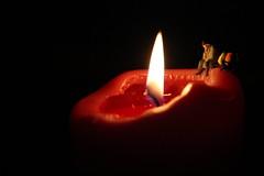 By Candlelight (amanda_shirlow) Tags: miniature macro mini micro miniatureworld miniaturephotography hoscale ho littlepeople lilliput little small scale artist candle tinypeople tinyworld preiser photography people