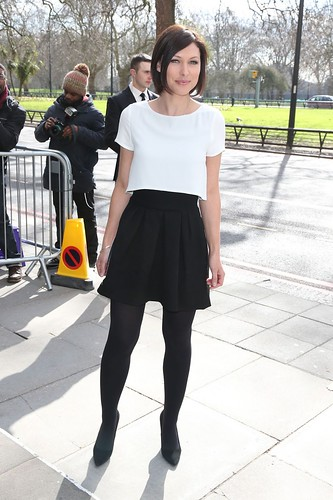 0e63aa57556 Emma Willis in black opaque tights and heels - a photo on Flickriver