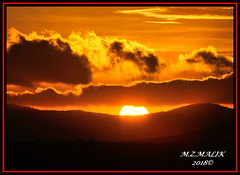 SUNRISE CAPTURED OVER PLAINS OF MASAI MARA......SEPT 2018. (M Z Malik) Tags: nikon d3x 200400mm14afs kenya africa safari masaimara africansunrise ngc npc