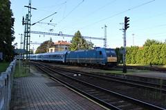480-024 (Péter Vida) Tags: train railroad rail railway station máv traxx sky electric locomotive 480024