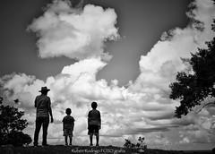 A walk in the clouds (Mister Blur) Tags: awalkintheclouds family sunday walk clouds ruinas arqueológicas aké archeological ruins yucatán méxico blackandwhite bw blancoynegro monday monochrome snapseed nikon d7100 35mm rubén rodrigo fotografía