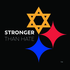 Stronger Than Hate (Stronger Than Hate PGH Mural Project) Tags: strongerthanhate tim hindes inspire collective pittsburgh steelers charity anti hate mural public art project pgh