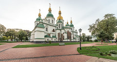 La cathédrale Sainte-Sophie (Vincent Rowell) Tags: sigma816mm historical religious architecture stsophia'scathedral cathedral church ukraine2018 ukraine kiev hdr photoshopped raw