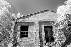 Weathered Corner IR (Neal3K) Tags: georgia buckheadga bricks infraredcamera kolarivisionmodifiedcamera 590nmir bw blackwhite abandoned