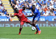 Leicester City v Liverpool (Alex Hannam) Tags: sport soccer clubsoccer leicester england unitedkingdom gbr leicestercityfootballclub leicestercity lcfc liverpool wesmorgan