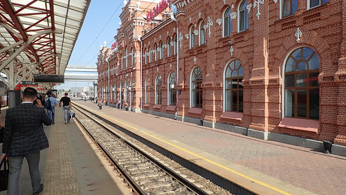 Russian trains ©  The Chuvash people of Krasnoyarsk region