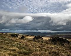 Bleak Moors - Wessenden Head (Craig Hannah) Tags: holmevalley wessenden walk walking stroll wander ramble pennine pennines peakdistrictnationalpark peakdistrict westriding westyorkshire holmfirth path trail track craighannah october 2018 photography photos canon england uk landscape clouds sky moorland