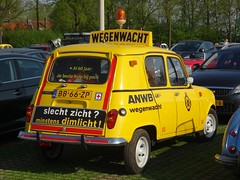 "1981 Renault 4 ""Wegenwacht"" (harry_nl) Tags: netherlands nederland 2018 bunnik renault 4 anwb wegenwacht bb66zp sidecode4 grijskenteken"