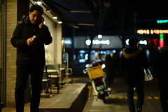 2303/1739 (june1777) Tags: snap street seoul night light bokeh sony a7ii konica hexanon ar 57mm f14 320 clear