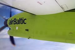 En Route From Vilnius To Tallinn On An Air Baltic De Havilland Canada Dash-8 28 September 2018 (The McCorristons) Tags: estonia tallinn september 2018 lithuania vilnius air baltic airbaltic de havilland canada dash8 q400 ylbbw vno tll inflight windowseat engine