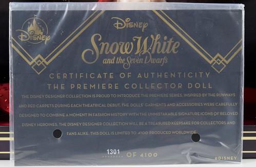 2018 Snow White Disney Designer Collection Premiere Series