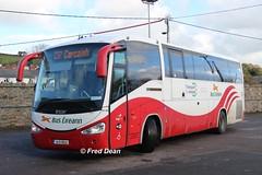 Bus Eireann SC335 (151D19523). (Fred Dean Jnr) Tags: buseireannroute237 cork scania k340 irizar century sc335 151d19523 bandondepotcork october2018 buseireann
