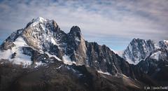 Aiguille Verte (4 122 m) (Quentin Douchet) Tags: aiguilleverte4122m alpes alpesfrançaises alps frenchalps lesdrus3754m landscape montagne mountain panorama paysage sommet summit
