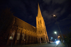 Church of St Walburge at night (Tony Worrall) Tags: stwalburges church night evening spire lit lights tall illuminate urban street preston lancs lancashire city welovethenorth nw northwest north update place location uk england visit area attraction open stream tour country item greatbritain britain english british gb capture buy stock sell sale outside outdoors caught photo shoot shot picture captured ilobsterit instagram