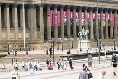 Midday in Liverpool (Gill Stafford) Tags: gillstafford gillys england merseyside liverpool limestreet railway station street view walker art gallery